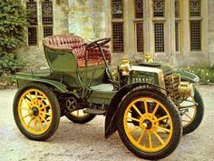 autos. 1902 Panhard et Levassor