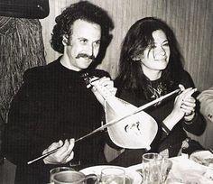 nikos xylouris & jenny karezy   ⌘cretan folk musician & renowned actress, respectively