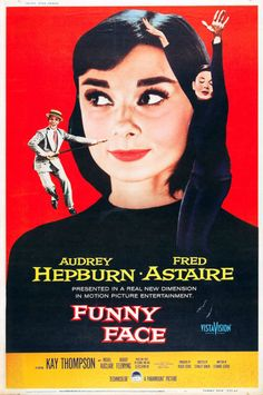 Audrey Hepburn - Funny Face - Fred Astaire - Mini Art Print Poster D Audrey Hepburn Funny Face, Audrey Hepburn Movies, Audrey Hepburn Poster, Best Romantic Comedies, Romantic Comedy Movies, Beau Film, Good Girl, Fred Astaire, Best Rom Coms