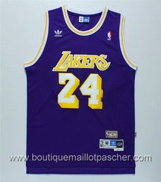 canotte nba Los Angeles Lakers Kobe Bryant  24 Retro porpora Lakers Kobe  Bryant 8fe2389912fe