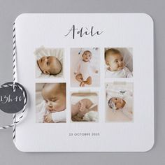 Our baby card mix - sends love and beautiful birth cards - Geburt Birth Announcement Template, Announcement Cards, Pregnancy Announcements, Baby Cards, Kids Cards, Christening Invitations, Twin Birthday, Baby Album, Twin Babies
