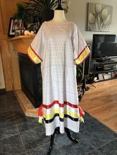 Traditional Dress Shoulder to Hemline Waist Cotton Scout Mom, Dress With Shawl, Ribbon Skirts, Jessica Jones, Dance Dresses, Traditional Dresses, Hemline, Cover Up, Tunic Tops