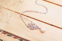 Dây chuyền bạc Pattern Pearl 3
