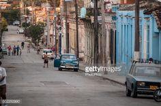 Cienfuegos, Cuba, December 28, 2012. People walking on a street... #sanctispiritus: Cienfuegos, Cuba, December 28, 2012.… #sanctispiritus