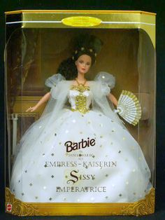 Empress Kaiserin Sissy Imperatrice Austria Austrian Royalty Barbie Doll #Barbie