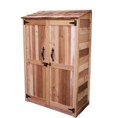 4x2 Garden Chalet Cedar Shed