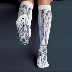 Skull socks... cool...