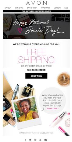 Proud of Pretty: AVON® Free Shipping Offer!