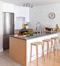 Cozinha com bancada americana, dicas e projetos para te inspirar