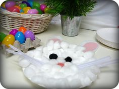 Toddler Easter Craft Idea: Make a Paper Plate Bunny Rabbit