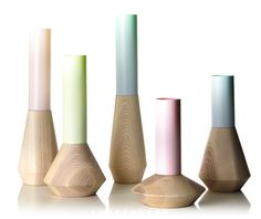 Beautifully formed vases