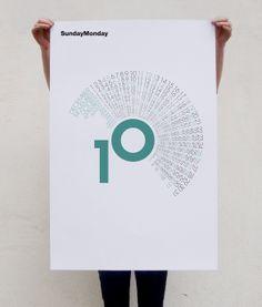 sampson may design, just gone six, radius '10 calendar