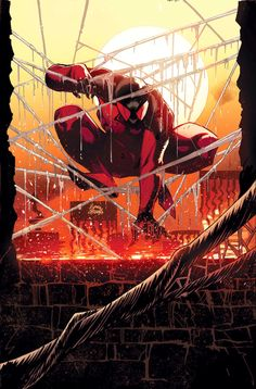 Kaine as the Scarlet Spider