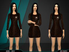 SIms4Krampus' Jacobs Dress   Sims 4 Updates -♦- Sims Finds & Sims Must Haves -♦- Free Sims Downloads