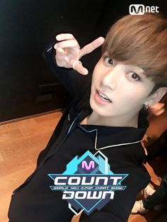 Jungkook ❤ MCOUNTDOWN Selfie #BTS #방탄소년단