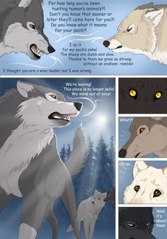 Off-White page 54 by akreon Cute Wolf Drawings, Cool Drawings, Anime Wolf, Off White Comic, Wolf Comics, Fantasy Wolf, Fantasy Art, Fantasy Comics, Lone Wolf