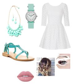 """""""Untitled #38"""" by sydney-lucidi on Polyvore featuring Lilly Pulitzer, Timex, Lime Crime and Cocobelle"""