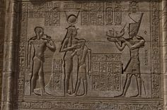 https://flic.kr/p/v2i79h | Relief in Temple of Hathor, Dendara | Qena, Egypt