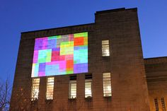 Some interesting digital installations based on colours by the artist Tim Head.