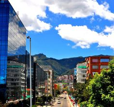 Visiting Nu down-town at Golder in Bogota, Colombia (memories of helping move office)