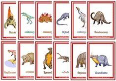 Free dinosaur flash cards                                                                                                                                                                                 Más