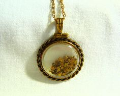 Vintage Pendant 12k Gold Fill Encased by SylCameoJewelsStore