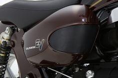 Moto Guzzi California EV Custom by Doc Jensen Guzzi www. Moto Guzzi California, Custom Bikes, Riding Helmets, Custom Motorcycles, Custom Bobber