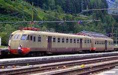 FS ALe 840 012 Bo'Bo' EMU at Fortezza Trentino-Alto Adige in Italy