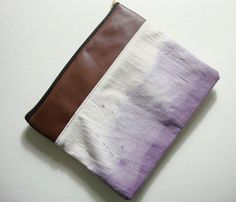Ombre clutch/iPad case