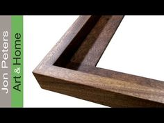 How to Get Perfect Miter Joints + Make a Frame - YouTube