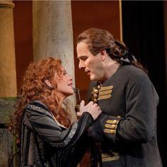 Renée Fleming asRodelinda and Andreas Scholl as Bertarido in Handel at the Metropolitan Opera House    #Handel #NewYork #opera