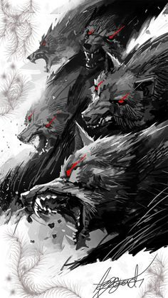 2151 Best Werewolf art images in 2019 | Fantasy characters