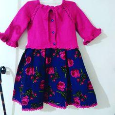 #pazen#yünle birlesimi#4yaşicin# Baby Girl Closet, Baby Knitting Patterns, Baby Dress, Crochet For Kids, Rompers, Baby Kids, Clothes, Dresses, Fashion