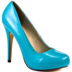 Michael Antonio - Love Me - Turquoise Patent $50