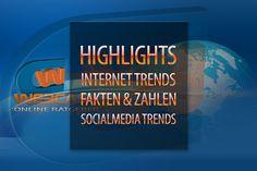Vor 10- 15 Jahren war für die meisten Europäer Thema Internet noch Tabu u/o ausschliesslich nur für Firmen gedacht. Heute steht Internet Anschluss fast in jedem Haushalt und das nicht nur mit einem PC's oder Notebook bestückt. Internet Trends, Internet Anschluss, 15 Years, Numbers, Household, Life