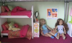 How to Make a Cheap Dollhouse for American Girl Dolls