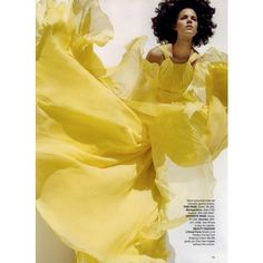 Harper's Bazaar Editorial Brights, March 2008 Shot #7 ❤ liked on Polyvore featuring models, people and editorials