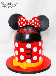 #MinnieMouse cake