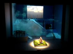 Cloudlands. South Coast Rep. Scenic design by Christopher Acebo.