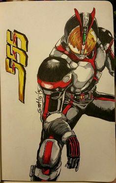 Kamen Rider 555 by Sato