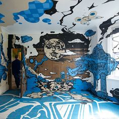 Du street-art du sol au plafond !