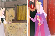 This fantastic girl makes walk through disney gifs Aurora Walt Disney, Cute Disney, Disney Magic, Disney Pixar, Funny Disney, Disney Fanatic, Disney Addict, Disney Princess Aurora, Princesa Disney