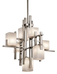 A new generation of buyers furnishing homes in 2013 won't be satisfied with a standard six-arm chandelier. Instead, investing in a sculptural statement fixture will be a way to express individality. The easiest way to instantly break with convention is by incorporating asymmetry.
