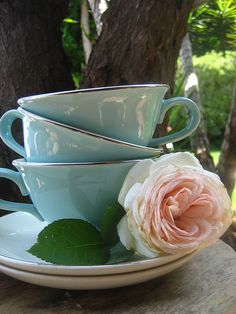 tea is always a good idea.. especially if you're drinking from these beautiful cups!