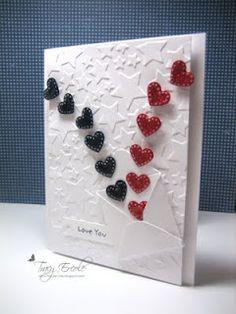corações com envelope