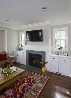 Family Room Fireplace & Built Ins - traditional - family room - chicago - Great Rooms Designers & Builders