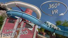 Caneva World 2019 Frozen Bob (left slide) VR Onslide Music Clips, Music Publishing, Vr, Frozen, World, Water, Gripe Water, The World