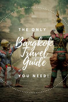 The only Bangkok Travel Guide you need! Are you looking for things to do in Bangkok? Then make sure to check out my brand  new Travel Guide! There is everything you need to know about Bangkok's capital and even more!