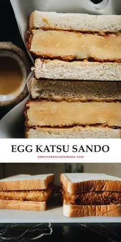 This Shake Shack egg katsu sando copycat recipe makes for the perfect special weekend brunch for any egg lover! #ad @peteandgerrys Entree Recipes, Dog Recipes, Copycat Recipes, Brunch Recipes, Indian Food Recipes, Asian Recipes, Katsu Recipes, Japanese Recipes, Chinese Recipes