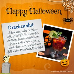Achtung! Scharfes Getränk - nur für Erwachsene :)